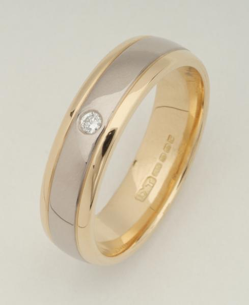 Bradley CDG (HRD) - Gents Wedding Ring4